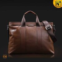 Slim Leather Briefcase Laptop Bag for Men CW914009