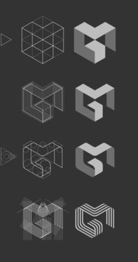 MG logo by Jan Zabransky, via Behance