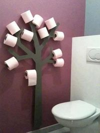 It's a TP Tree! :D omg - Click image to find more DIY & Crafts Pinterest pins
