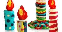 Modelling clay CHRISTMAS crafts