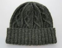 I finished this hat to give to my uncle this Christmas. He's a fisherman, and I think it's oh so appropriate! I tried it on and have decided that I will need one too (knit in the next size down) once I'm finished with all the other gif...
