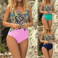 Women Backless Sexy Print Swimsuit $32.99