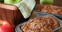 Sink your teeth into this rich pumpkin apple bread with streusel topping. Chunky apples bites, warm spice, and crunchy streusel make this bread a favorite.