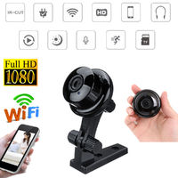 H6 Mini IP Camera Wireless WiFi HD 1080P 120° Home Security Camera Night Vision