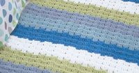 Little Waves #Crochet Rug: free pattern