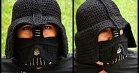 Ravelry: Darth Vader Hat crochet pattern by Juli Roldan Voncannon