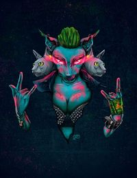 Hell Yeah...!! by Carlos Fuentes, via Behance