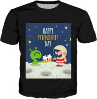 ROTS Friendship Day Adult T-Shirt $25.00