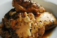 Check out this Crock Pot Beer Chicken Recipe at LaaLoosh.com! The perfect, easy low-calorie crockpot recipe that makes preparing a Weight Watchers dinner a snap