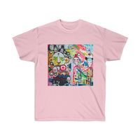 Colorful Abstract Art, Unisex Ultra Cotton Tee $16.00