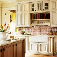 Today's kitchen backsplashes are as decorative as they are functional. Discover a variety of materials and styles to help you choose the right backsplash for yo