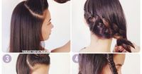 Double up on the braids with this tutorial from The Beauty Department.