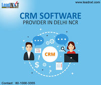 CRM Software Provider in Delhi NCR  CRM in Delhi, Delhi NCR, Gurgaon, Noida for 17 industries. Get CRM pricing, CRM Hosting options, CRM Customisation, 17 CRM Demos and everything on Customer Relationship Management. Big clients trust us. https://leadn...