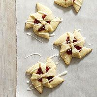 Cherry Pinwheels Recipe - I would make these with raspberry jam
