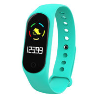 Bakeey M4S Heart Rate Blood Pressure Oxygen Monitor Multi-sport Modes Call Rejection USB Charging Smart Watch