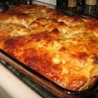 Million Dollar Spaghetti- this has cream cheese and cottage cheese in it! It is a great meal for a party, to take to a new neighbor, or a family that just had a new baby, holiday, potluck, etc.