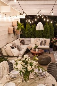 "Back Porch Ideas �€"" If you have a back porch, you probably have been as guilty as the rest of us by not doing much to provide a welcoming environment. Your back"