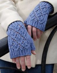 Here are the instructions on how to knit your own fingerless mittens. These cute Pt. Reyes Mitts in Wool Bam Boo are super cute and you can choose any color yar