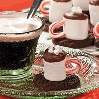 Hot Chocolate Marshmallows - Free Christmas Recipes, Coloring Pages for Kids & Santa Letters - Free-N-Fun Christmas.
