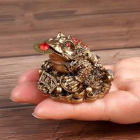 Feng shui money frog chinese fortune $35.00