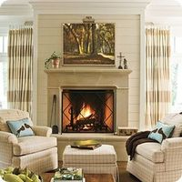 Like this idea of making the fireplace more of the focal point