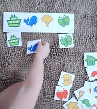 Free Printable Matching Game for Toddlers