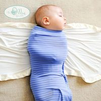 Learning how to swaddle is one of the rites of passage for new parents. This week two Project Nursery readers will win two swaddles from The Ollie World.