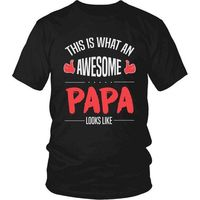Awesome Papa T-Shirt, Gift for Papa, Gift for Dad, Gift for Grandpa, Gift for Papa, Papa T-Shirt, Papa Shirt $20.99
