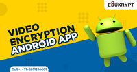 Edukrypt has also developed video encryption android app along with video encryption software. You can easily download the latest version of video encryption android app from the Google Play store. Know more Call: +91-885-128-6001 or visit https://www.edu...