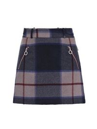richard nicoll for fred perry Check A-line skirt £123.00