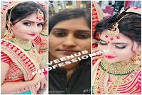 Bridal Makeup and Hairstyle Artist in Ballabhgarh Faridabad: Request a quote from makeup artists to perfect your look during your wedding events and parties. In addition, a stylish hair cut, stylish hair design, spa treatment, facial/bleach, medicare, ped...