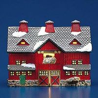 "Department 56: Products - ""Red Barn"""