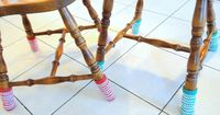 Chair socks. My next project for sure.