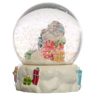 Collectable Christmas Sloth Snow Globe Waterball  Made from resin these fun items are great gifts. Each is hand painted to give them a unique and individual finish.  The snow globes are made from resin and glass and contain a non toxic liquid.  Dime...