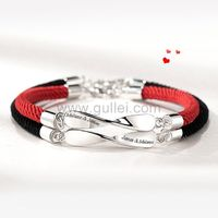Engraved Infinity Sign Couple Bracelets Christmas Gift https://www.gullei.com/engraved-infinity-sign-couple-bracelets-christmas-gift.html