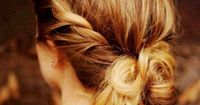 "6 Easy Labor Day Hairstyles�€""No Labor Required via"
