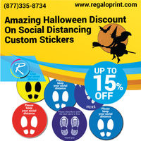 15% Halloween Discount on Social Distancing Custom Stickers.jpg