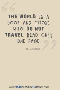 Travel Quotes The world is a book! Aline #travelquotes #theworldisabook #travel #vacation #travelmotivation