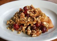 Best Healthy Desserts of 2011 - Vegan Apple Cranberry Crisp