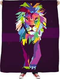 ROFB Lions Stroll Fleece Blanket $65.00