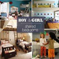 Here are ideas on how to have siblings share a room, *especially* if they are opposite genders. Your kids can share a space while maintaining their own �€œzones�€.