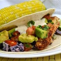 Quick Fish Tacos Allrecipes.com Thinking about making this but want to make it kid friendly and still healthy.