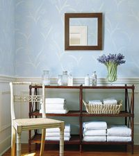 Queen Anne's Lace wallpaper from Thibaut's Serendipity collection