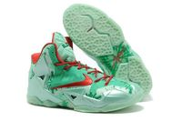 Discount Newest Nike LeBron XI GS Christmas For Men in 99358 - $94.99