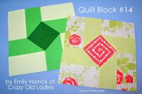 Crazy Old Ladies Quilts: VIRTUAL QUILTING BEE- Block #14