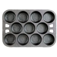 muffin pans, paths and pans.