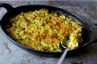 zucchini rice and cheese gratin | smittenkitchen.com