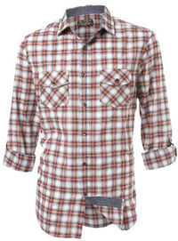 Burton Orange Textured Check Roll sleeve orange check shirt on a textured fabric for a more relaxed laundered look. 100% Cotton. Machine washable. http://www.comparestoreprices.co.uk//burton-orange-textured-check.asp