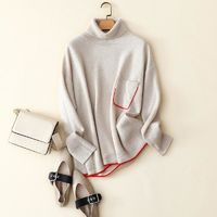 Pullover with A High Collar Sweaters $313.99