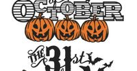 The 31st of October Phrase Set SVG scrapbook title SVG cutting files crow svg cut file halloween cute files for cricut cute cut files free svgs